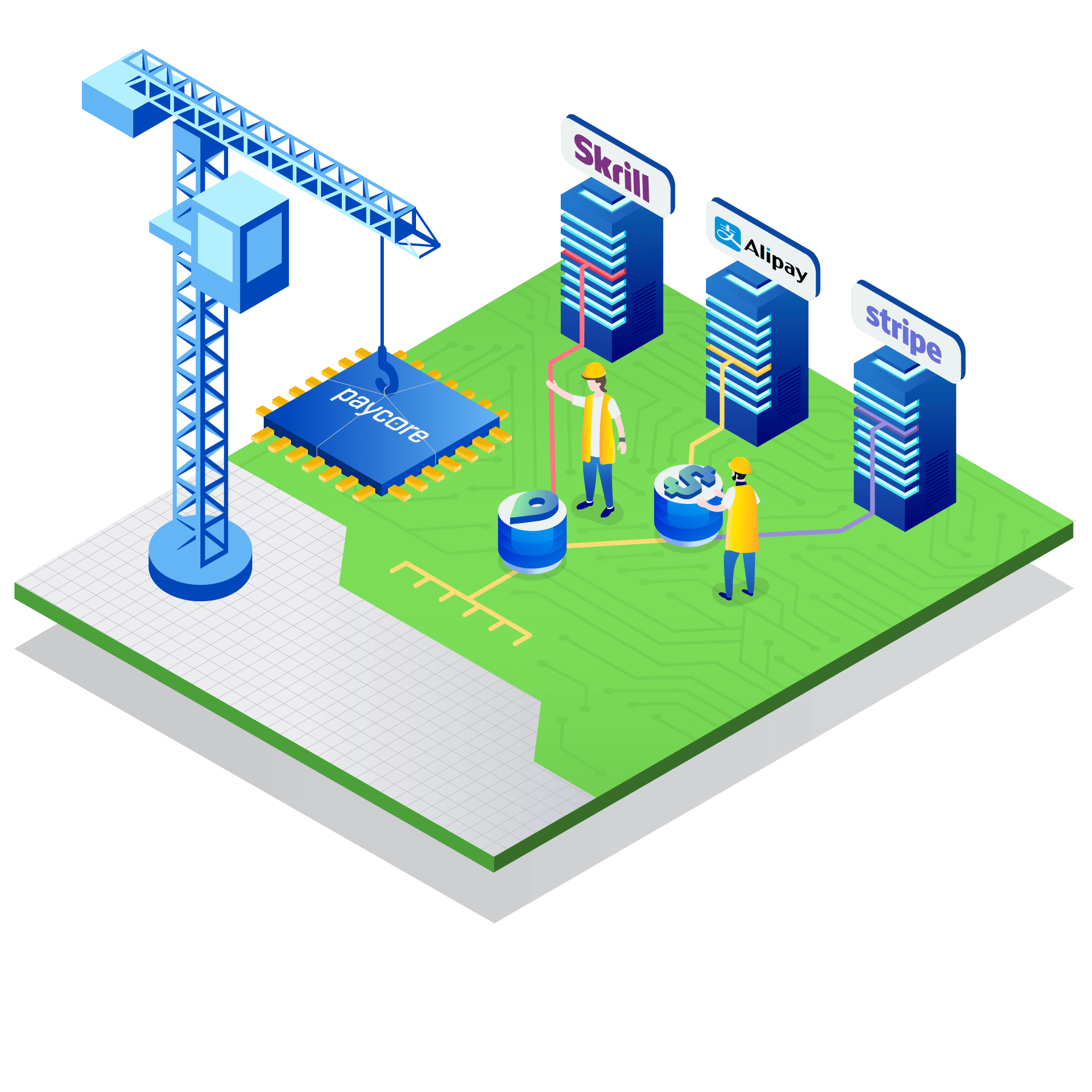 (Paycore)_Illustration_isometric_Build-your-own-payment-solution_07