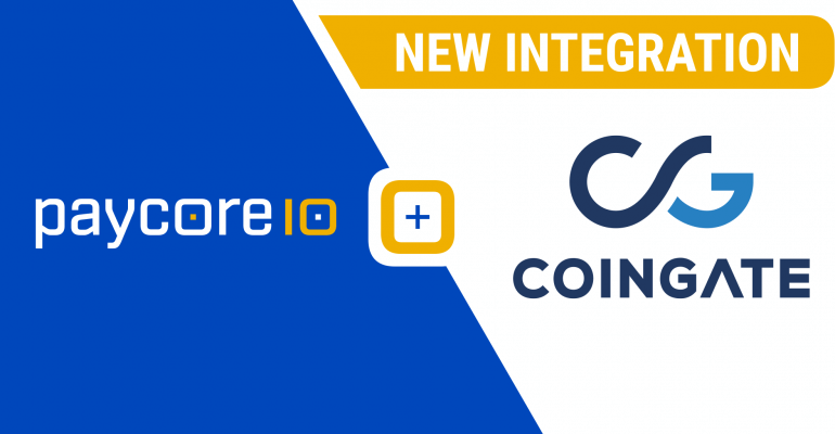 New integration with CoinGate