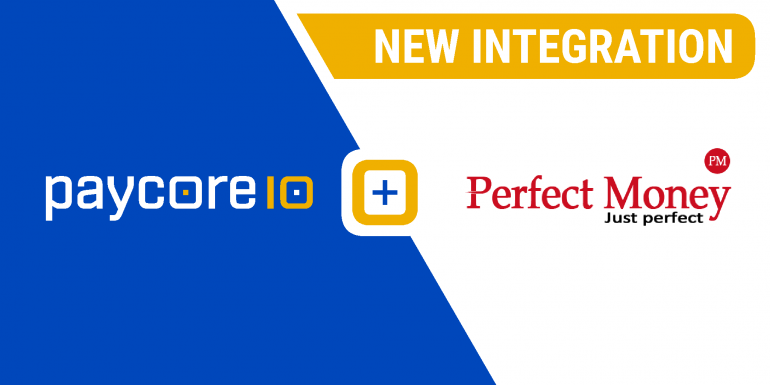 New integration with Perfect Money