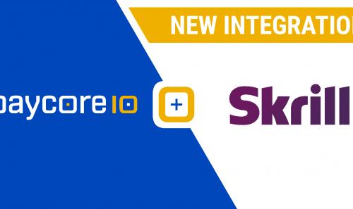 New integration with Skrill
