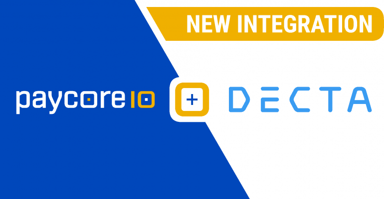 New integration with Decta