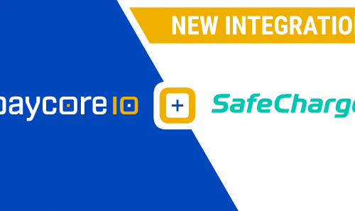 New integration with SafeCharge