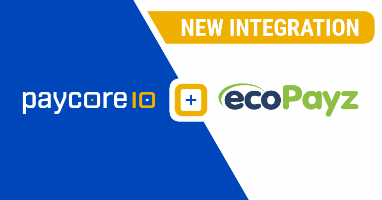New integration with ecoPayz