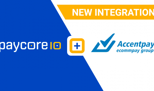New integration with Accentpay