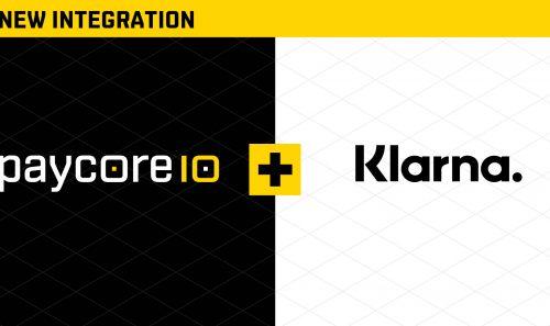 New integration with Klarna
