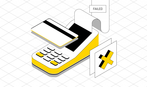 Failed transactions: reasons and escape routes
